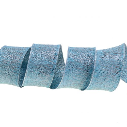 Deco ribbon with mica 40mm 20m
