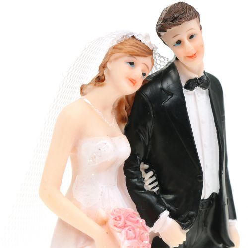 Deco bride and groom H13cm