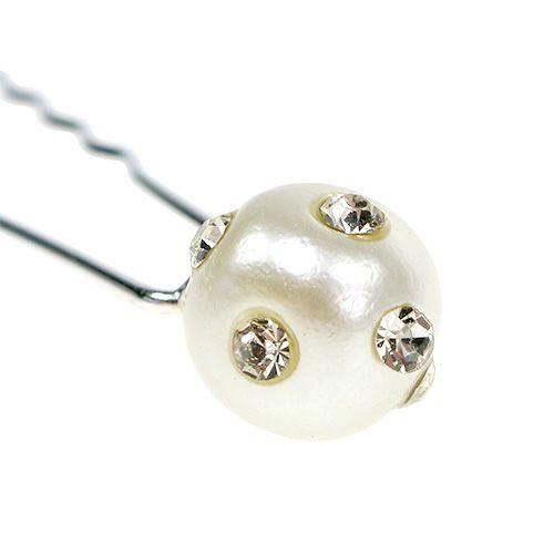 Decorative pin with pearl Ø9mm 20pcs