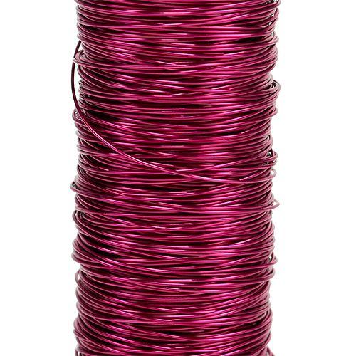 Decoration wire Ø0,30mm 30g/50m Pink