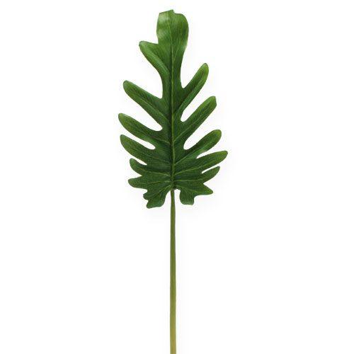 Deco sheets Philodendron Green B11cm L34cm 6pcs