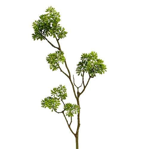 Deco branch green 80cm