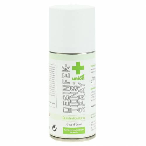 Disinfection spray hand disinfection 150ml disinfectant