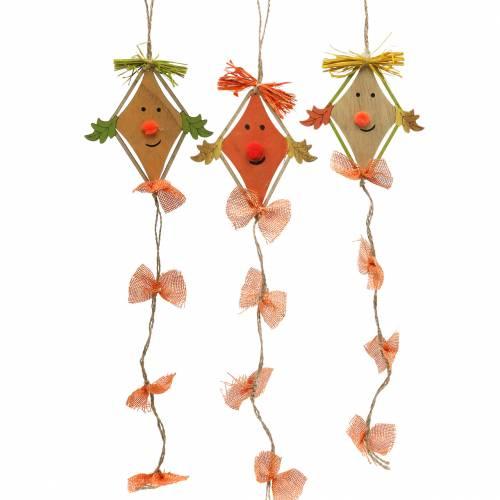 Autumn decoration dragon for hanging 10,5cm x 11cm 6pcs
