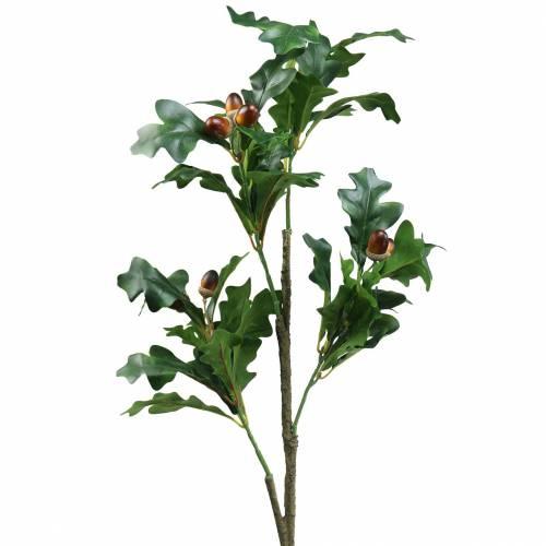 Oak leaf branch with acorns artificial 90cm