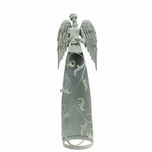 Deco angel metal 58cm