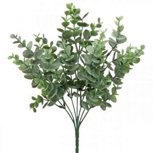 Eucalyptus branch green Artificial eucalyptus decoration at the pick 36cm