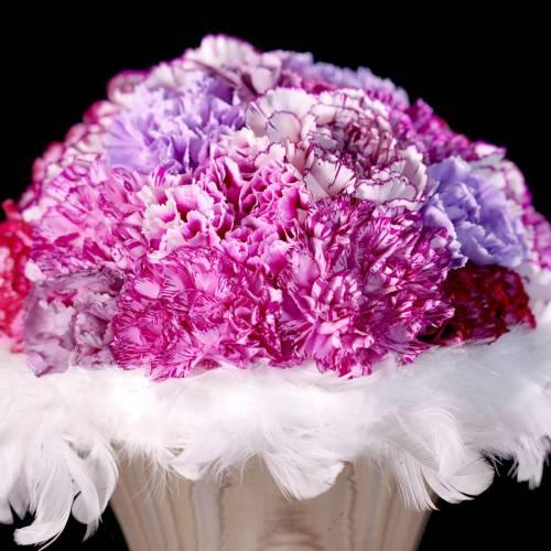 Spring wreath cream Ø20cm 3pcs