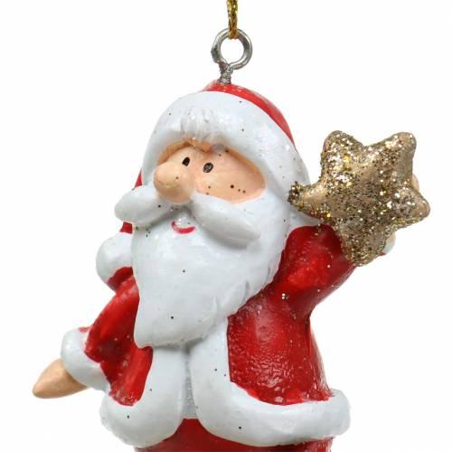 Christmas figures 9cm - 11cm to hang 3pcs