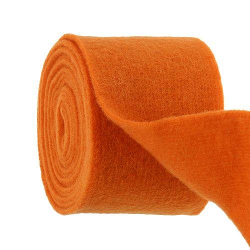 Felt tape 15cm x 5m orange