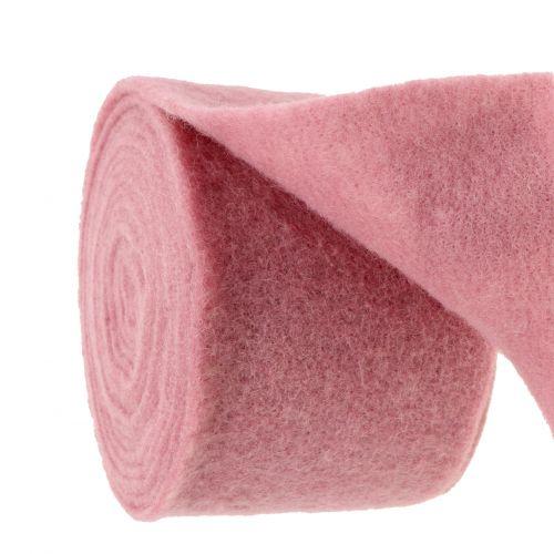 Felt tape, pot tape old pink 15cm 5m