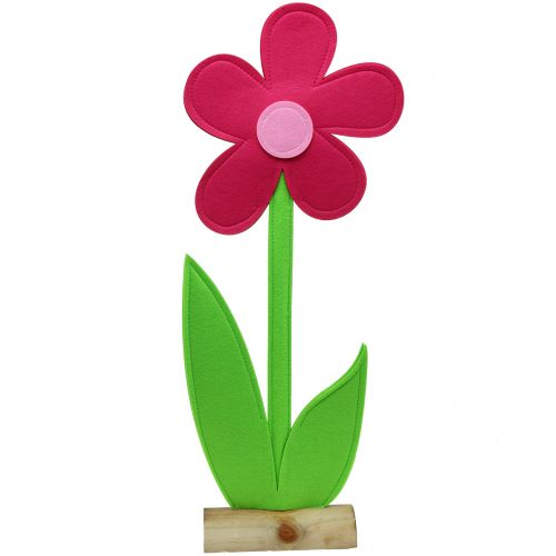 Felt Flower Pink 120cm