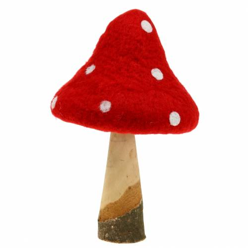 Toadstool Fall Decoration Red H27cm