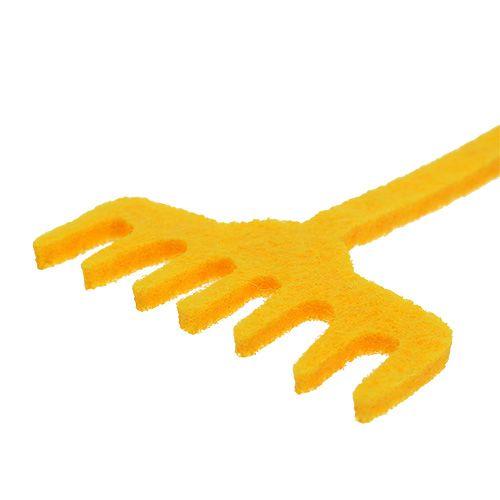 Garden Tool Felt Yellow 12pcs