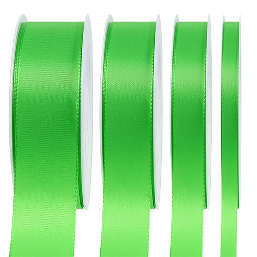 Gift and decoration ribbon 50m light gree