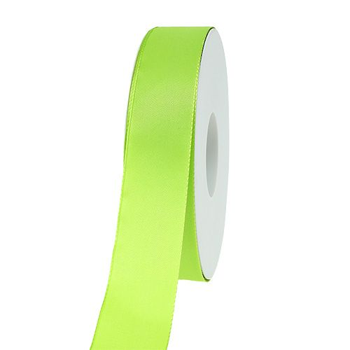 Gift and decoration ribbon apple green 25mm 50m