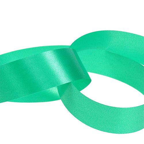 Gift Ribbon Curling Ribbon green 25mm 100m