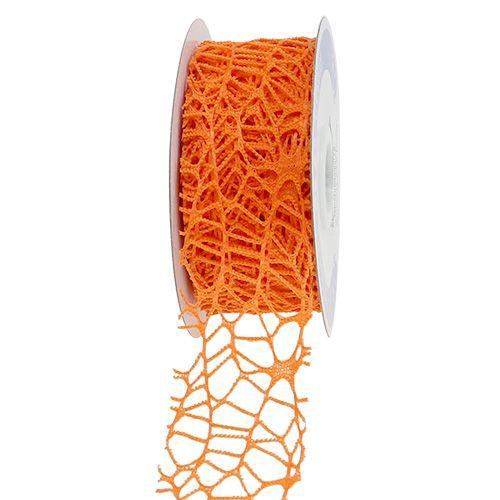 Mesh tape Orange 40mm 10m