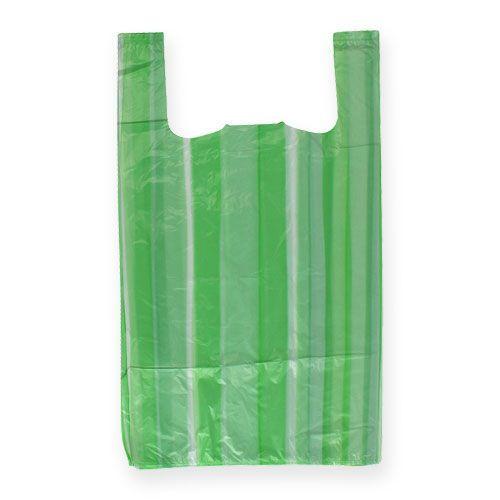 Shirt bag green 25cm x 12cm x 45cm 8my 100pcs
