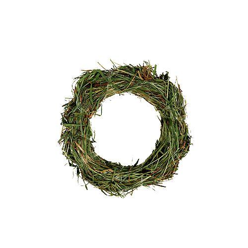 Hay wreaths 15cm 5pcs