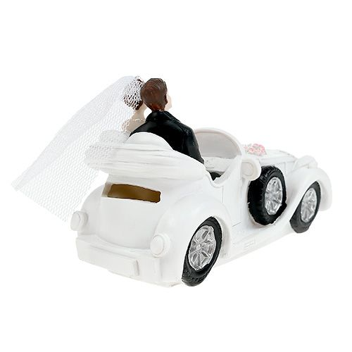Wedding figure bridal couple in convertible 15cm