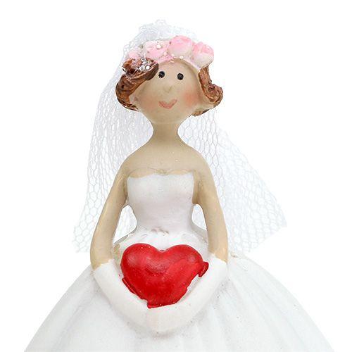 Wedding figure bridal couple 13cm 1 pair