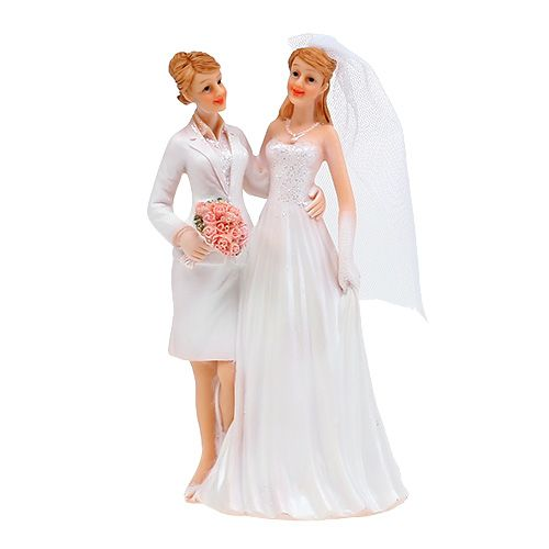 Wedding figure female couple 17cm