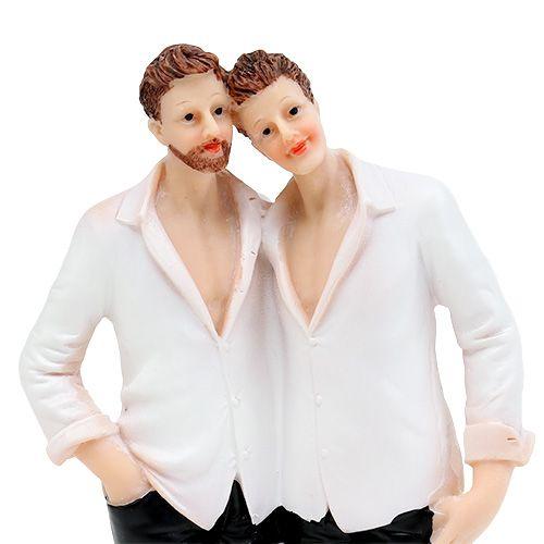 Wedding figure male couple 19cm