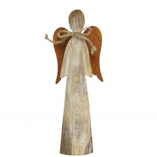 Wooden figure angel rust 28cm