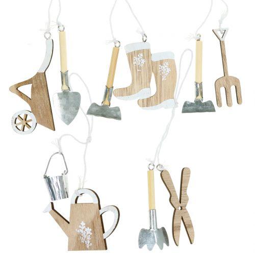 Wooden hanger garden utensils 5pcs