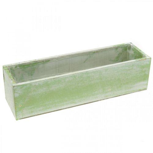 Planter, spring decoration, wooden box, herb box L32cm