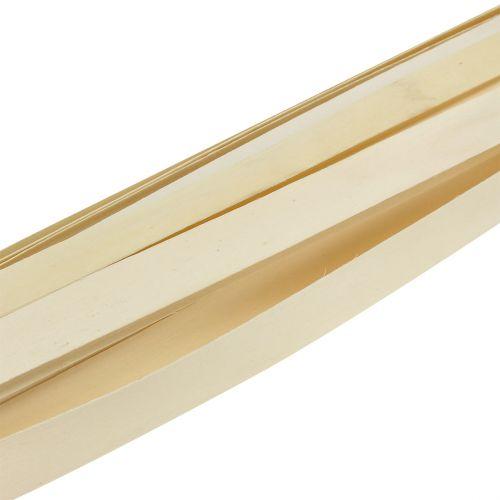 Wooden strip nature 95cm - 100cm 50pcs