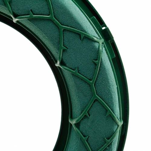 OASIS® IDEAL universal floral foam ring green Ø27.5cm 3pcs
