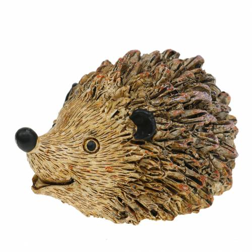 Decoration figure hedgehog nature 6,5cm