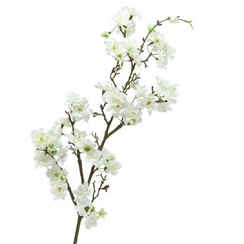 Cherry blossom branch white 105cm
