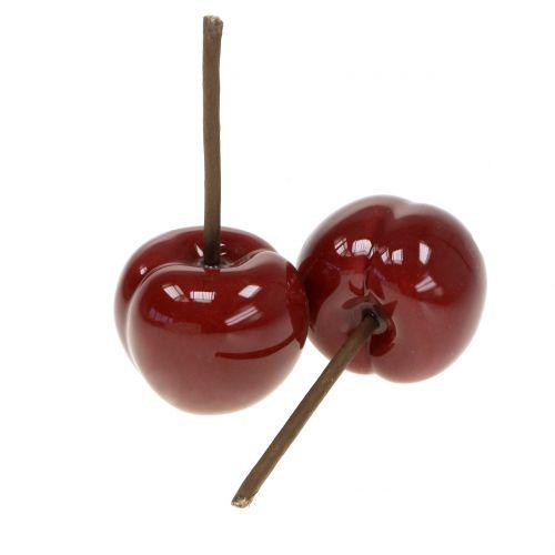 Cherry ceramic Ø5cm 4pcs