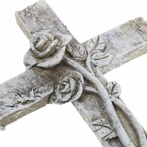 Grave decorations Cross 7,5cm x 11cm 4pcs