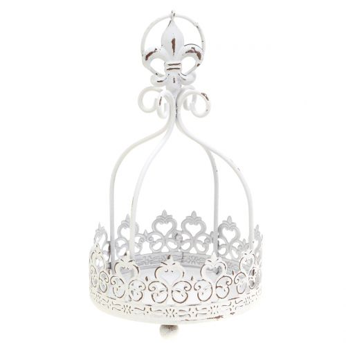 Crown for hanging antique white Ø10.5cm