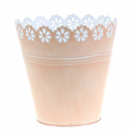 Flower pot flower ornament Pink Ø15cm H15cm