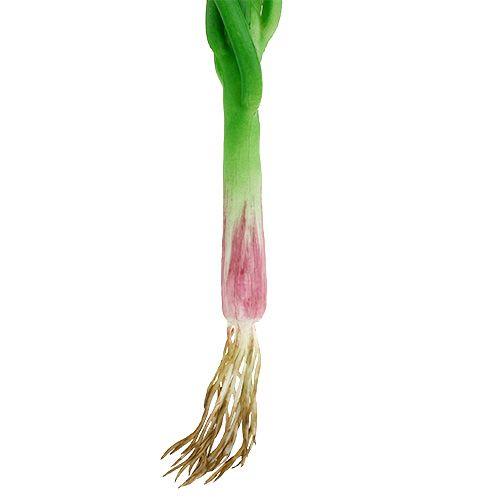 Artificial spring onions 30cm 4pcs