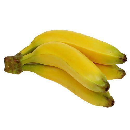 Artificial Banana Bunch Yellow 23cm