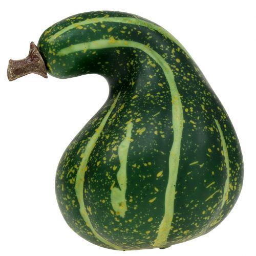 Artificial Pumpkin Dark Green 11cm 6pcs