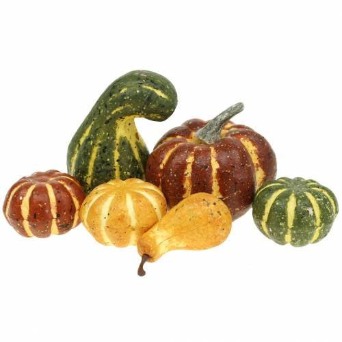 Pumpkin Mix Artificially 3,5cm - 11cm 26pcs