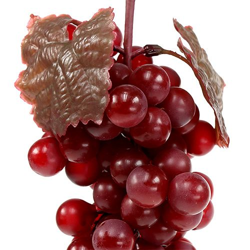 Artificial fruit grapes red 22cm