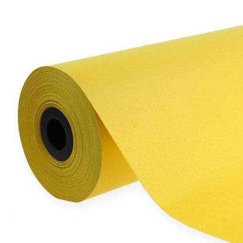 Cuff paper 37,5cm 100m yellow