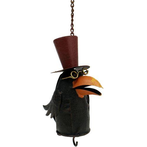 Raven to hang 18cm