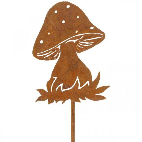 Garden plug mushroom rust fly agaric autumn decoration garden 47cm