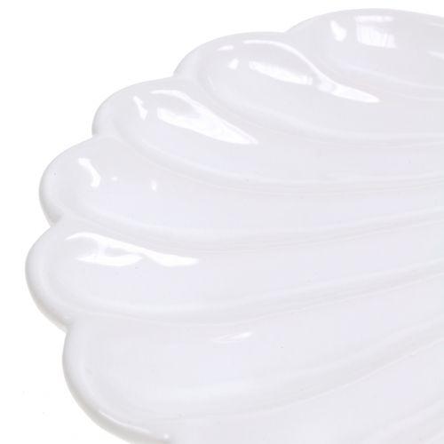 Decorative Bowl Shell White 15cm x 16cm 3pcs