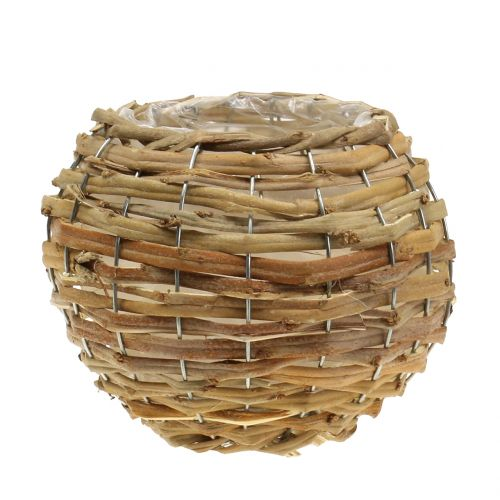 Basket ball for planting light brown Ø16cm