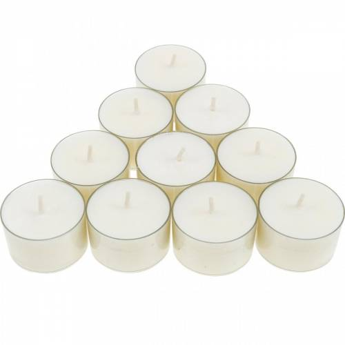 PURE Nature Lights tea lights rapeseed wax nature burning time 7 hours 18h